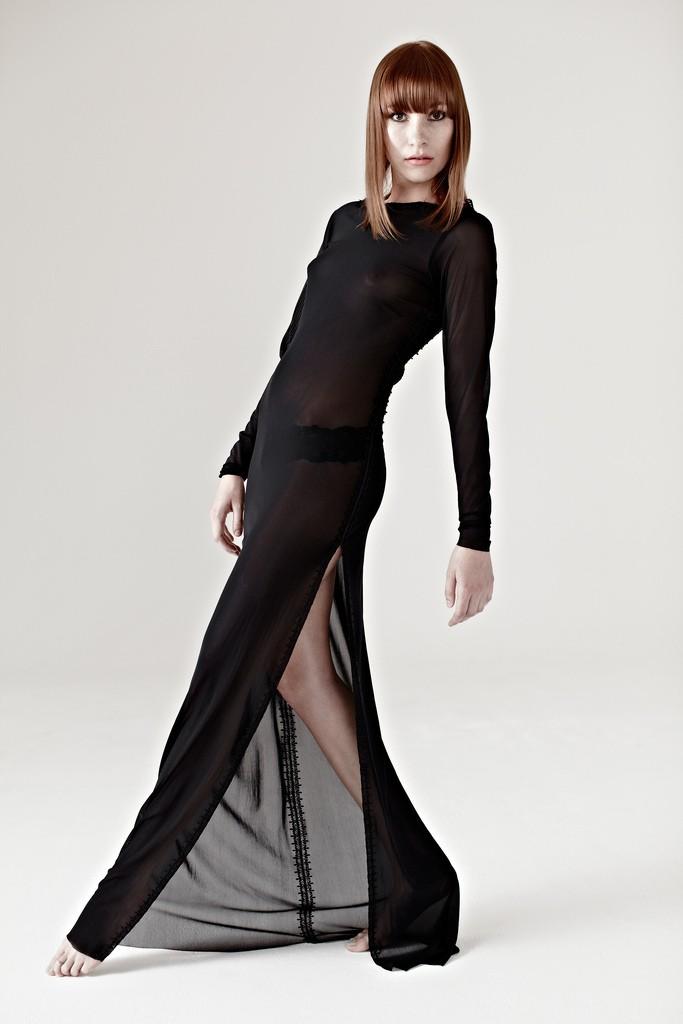 sheer dress photo
