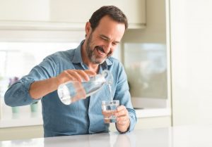 man hydrate