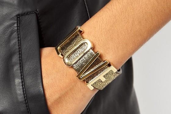 ASOS gold cuff