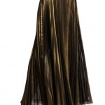 BCBG MAX AZRIA pleated maxi skirt