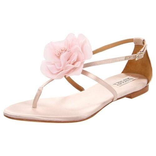 Badgley Mischka floral sandal