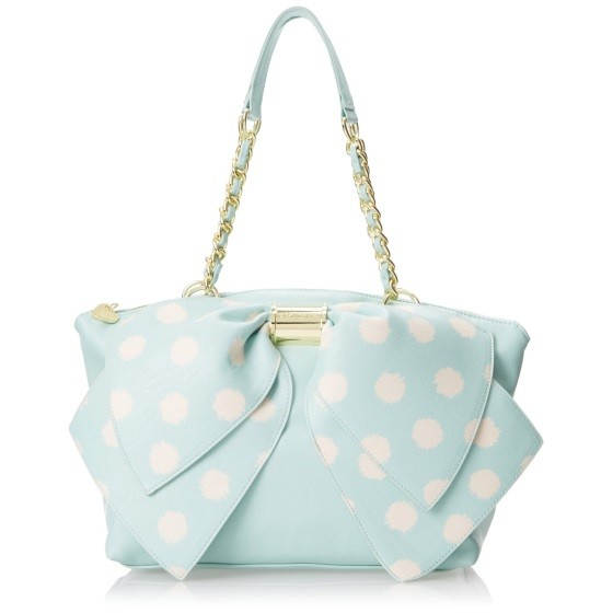 Betsey Johnson Bownanza Mint Bag