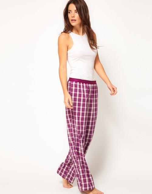 Calvin Klein Plaid Long Pant