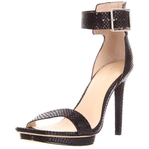 Calvin Klein snakeskin sandal