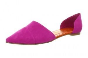 Pointy Toe D'Orsay Flats