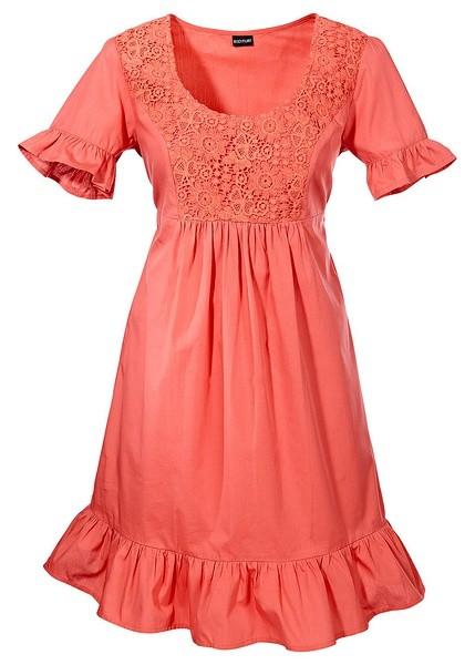 crochet lace bib dress