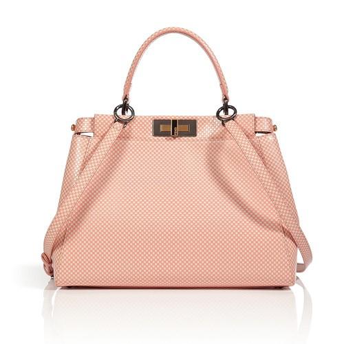 Fendi milk pink satchel