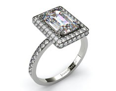Halo setting ring at James Allen