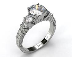 Vintage engagement ring at James Allen