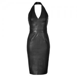 Jitrois Leather Audrey Dress