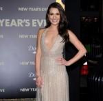 Lea Michele Valentino gown