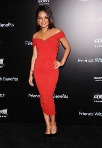 Mila Kunis best dressed