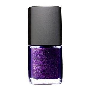 NARS deep violet nail polish