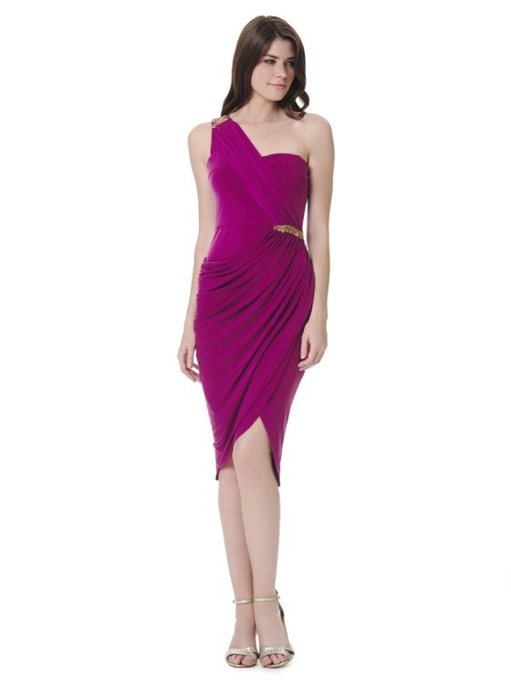 Homecoming One Shoulder Dress