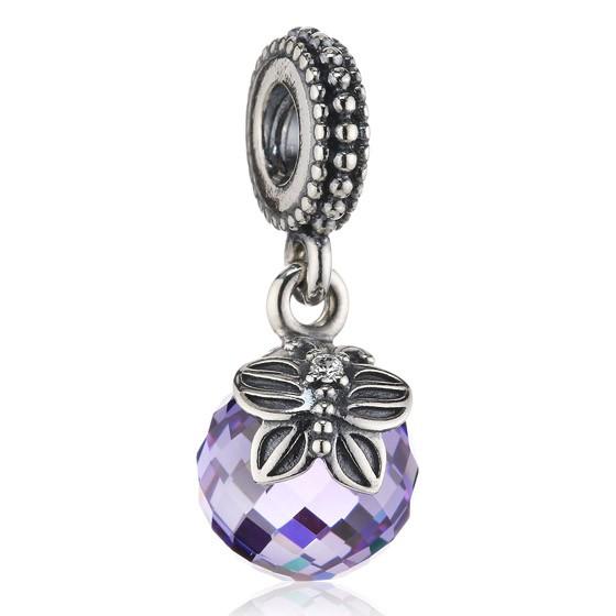 Pandora Lavender Pendant Charm