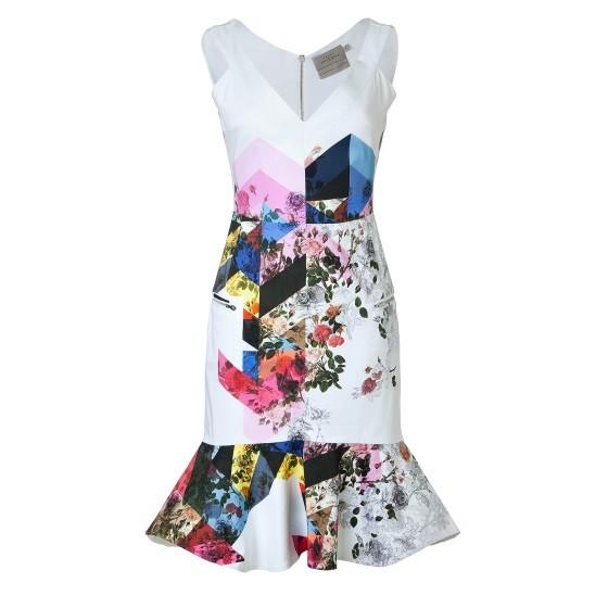 Preen floral print dress