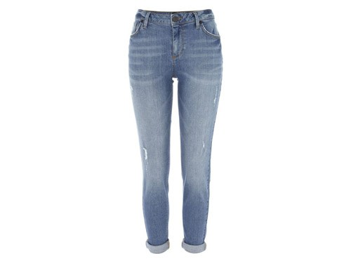 authentic wash slim jeans