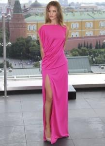Neon Colour Dress Rosie Huntongton-Whiteley