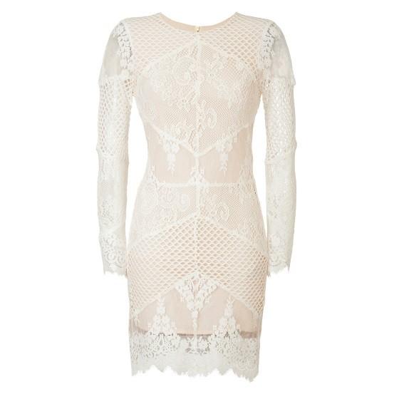 Sandro lace dress spring 2014