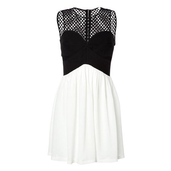 Sandro mesh dress