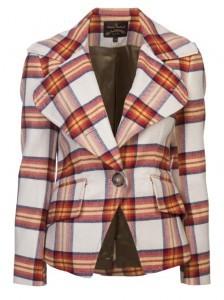 Vivienne Westwood plaid jacket