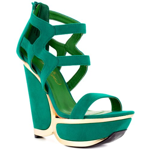 cut-out platform wedge