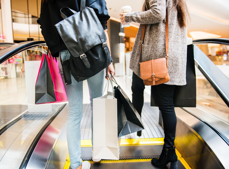 fashionistas shopping