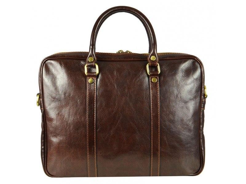 Dark-Brown-Duffle-Bag
