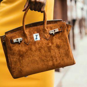 classy camel bag