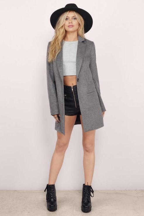 Tobi grey coat