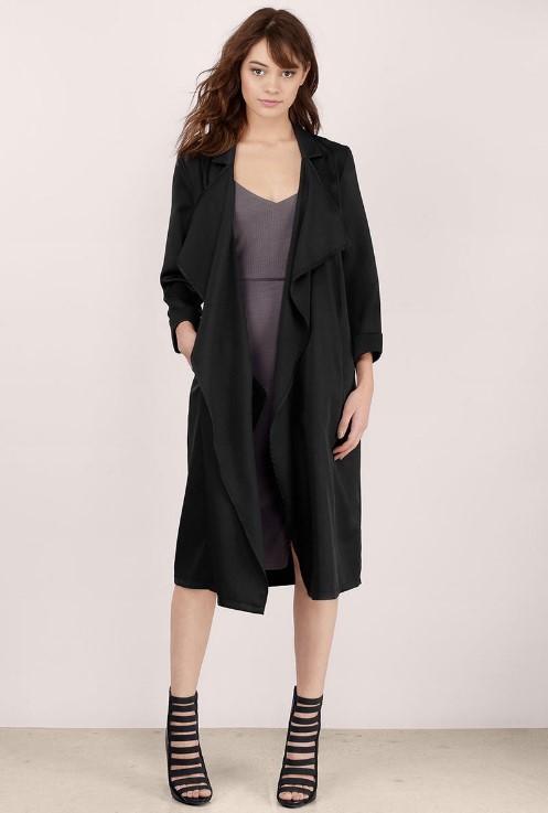 black coat Tobi