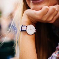 women wearing a watch
