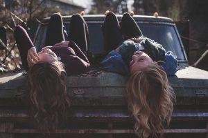young women hair