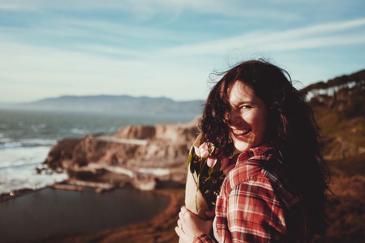 happy woman photo
