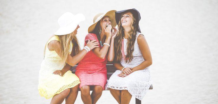 girls in summer dresses