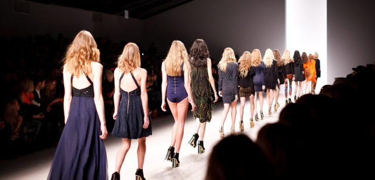 models during fashion week