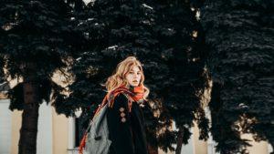 girl in winter fashion essentials