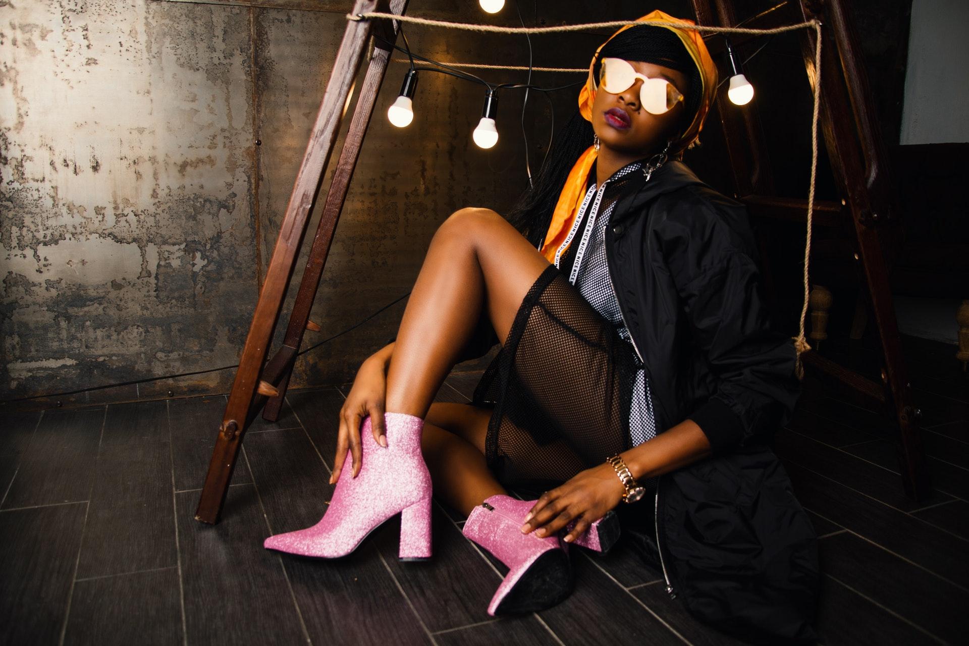 neon fluoro fashion trend