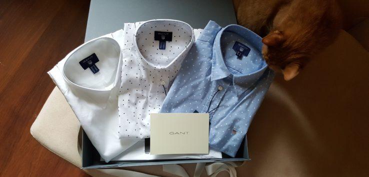 selection of gant shirts