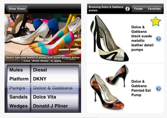 iShoes app