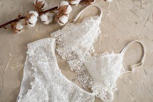 white lace lingerie