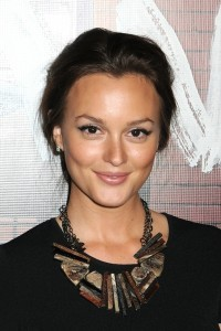 Leighton Meester Statement necklace