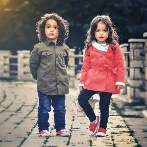 children dressed like adults