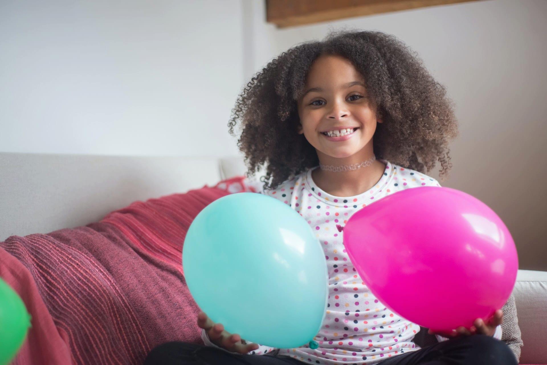 tween girl smile
