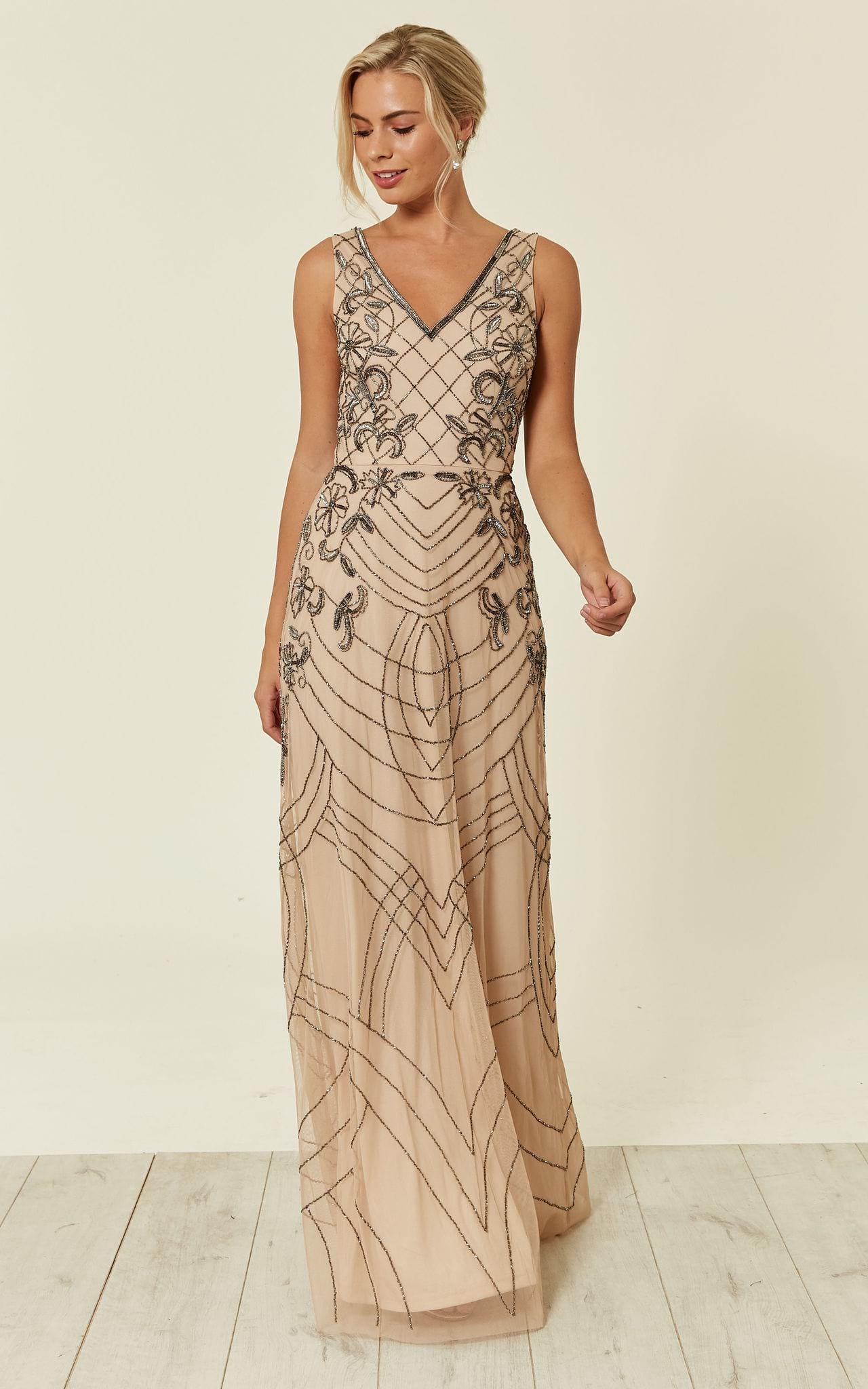 bridesmaid sequin dress