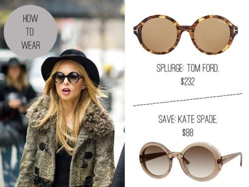 rachel zoe round sunglasses