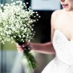 floral bridal influences