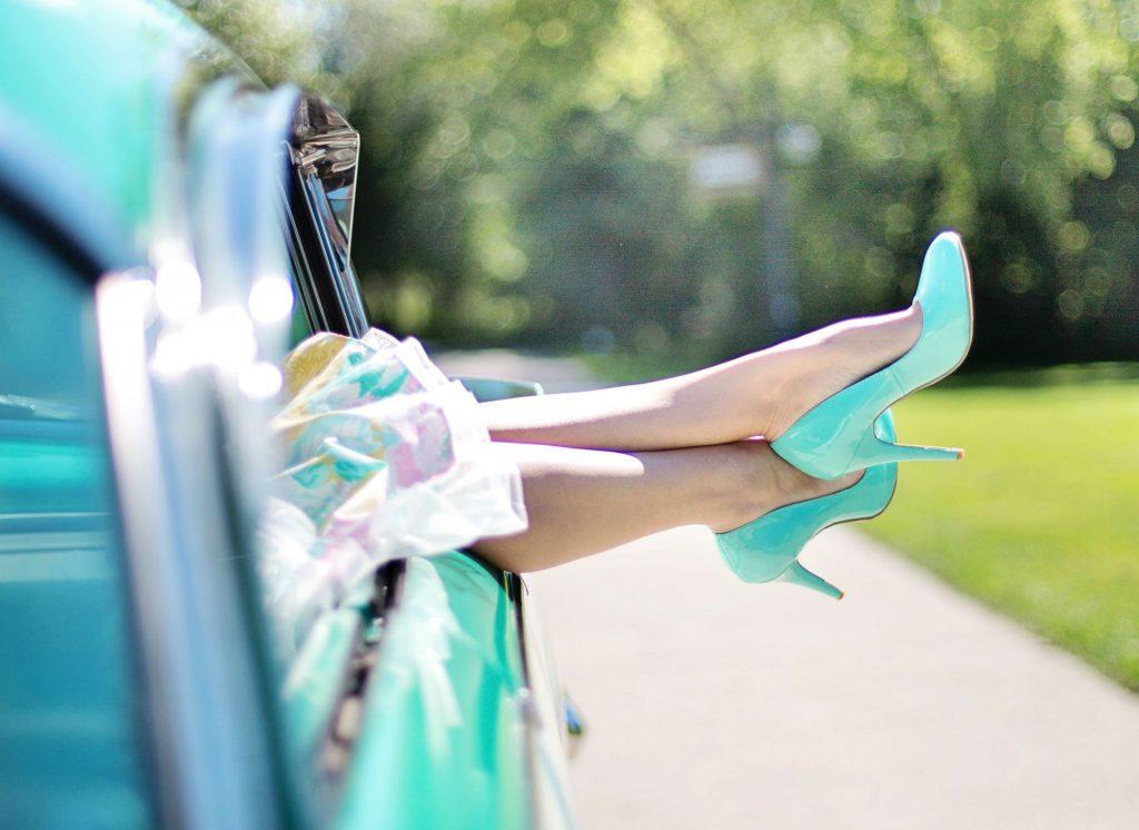 pastel heels